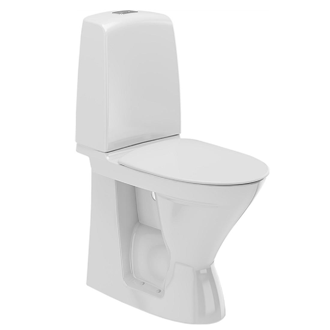 Toalettstol Ifö Spira 6261 Rimfree Hög Modell