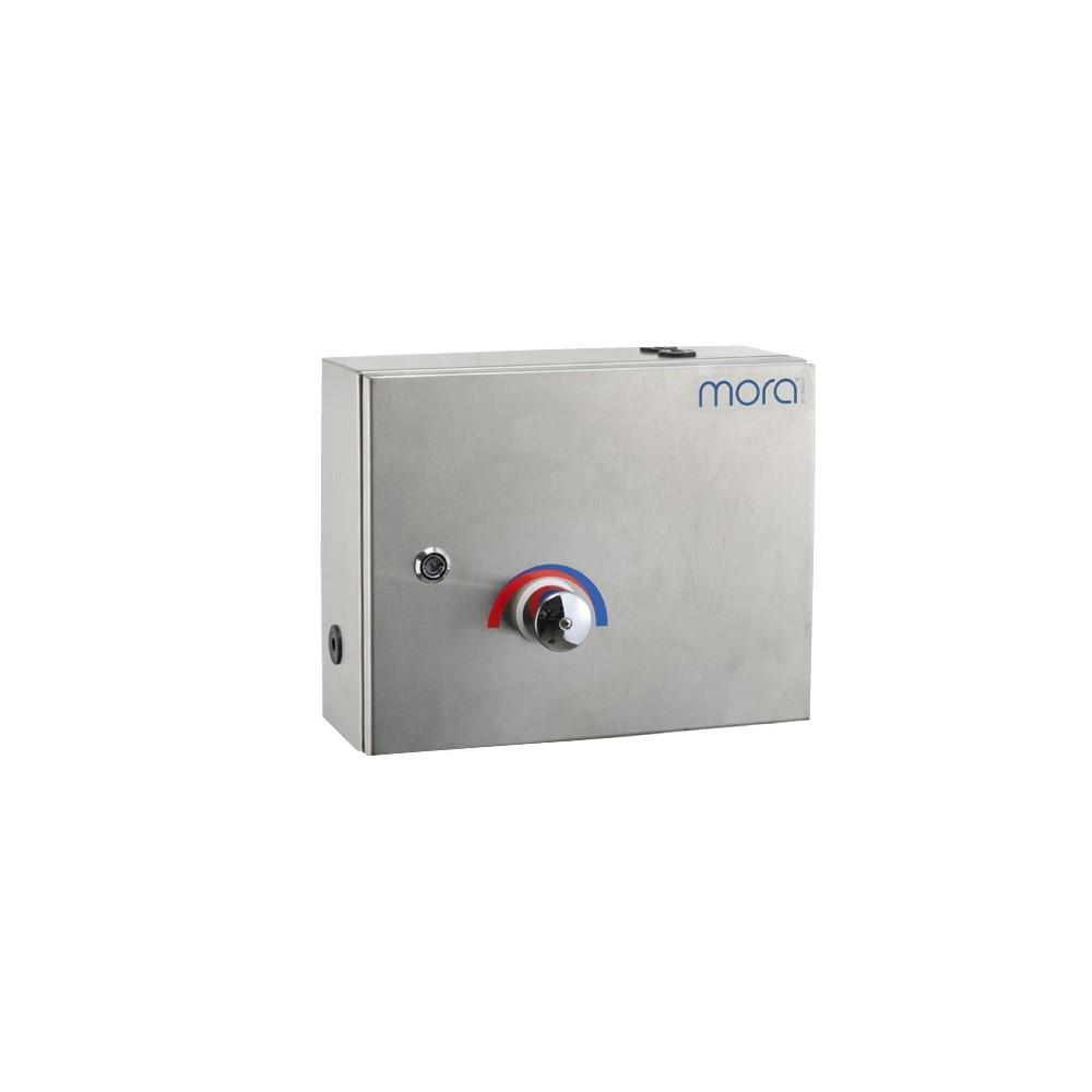 Badkarsblandare Mora Centraltermostat med Montagebox