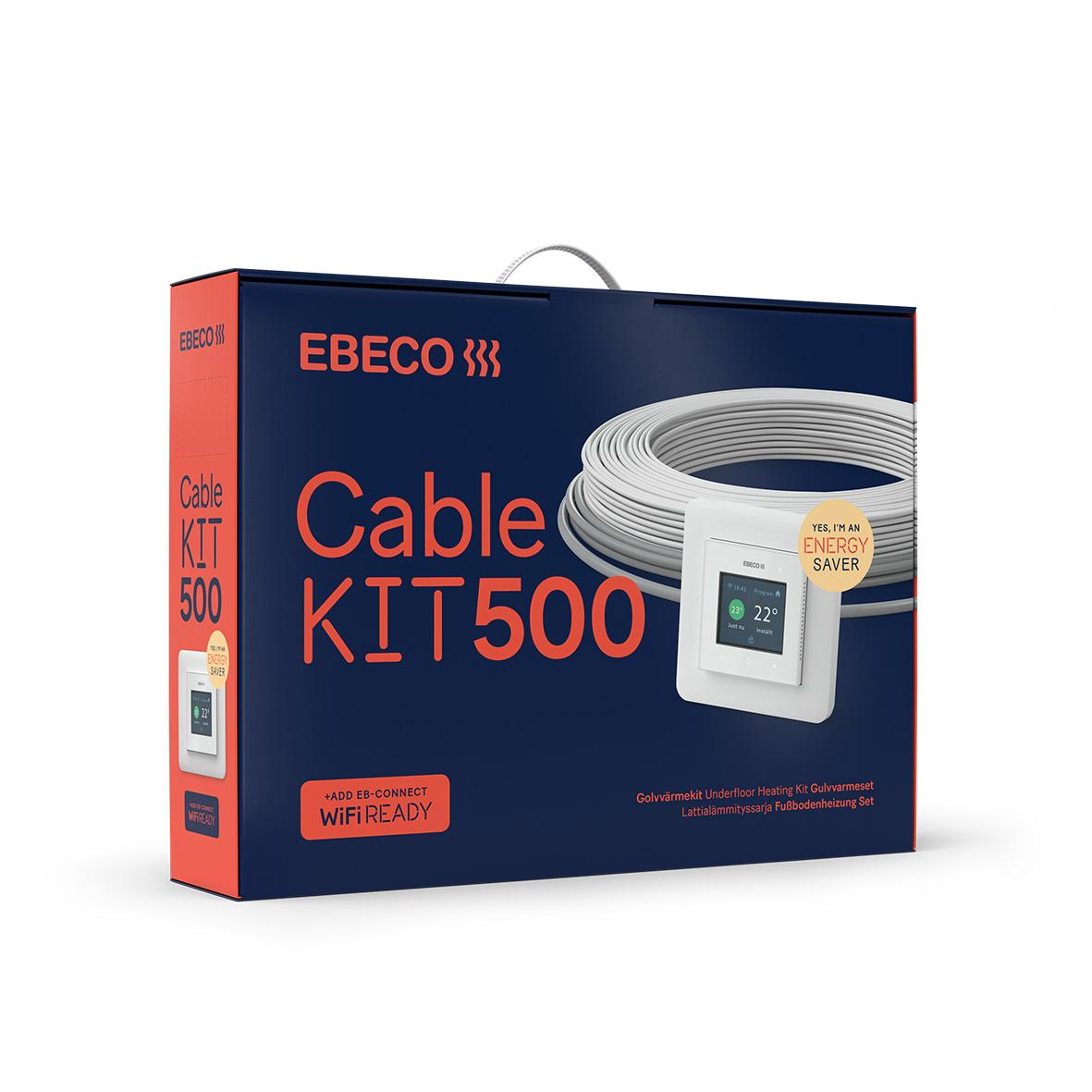 Golvvärmekit Ebeco Cable Kit 500