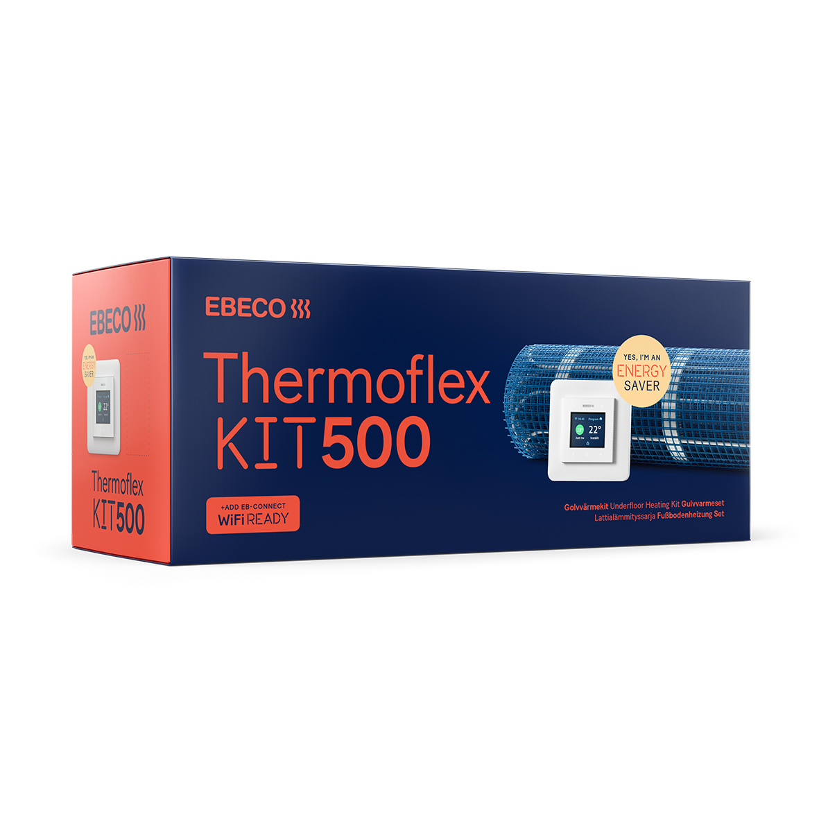 Golvvärme Ebeco Thermoflex Kit 500 med EB-Therm 500