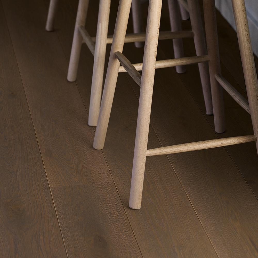 Trägolv Pergo Brown Oak Mattlack 1-Stav