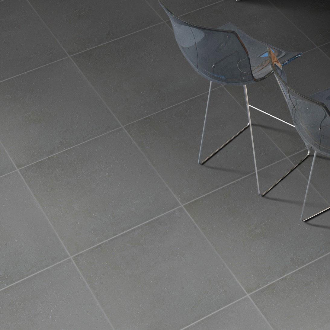 Klinker Bera & Beren Black 60×60 cm