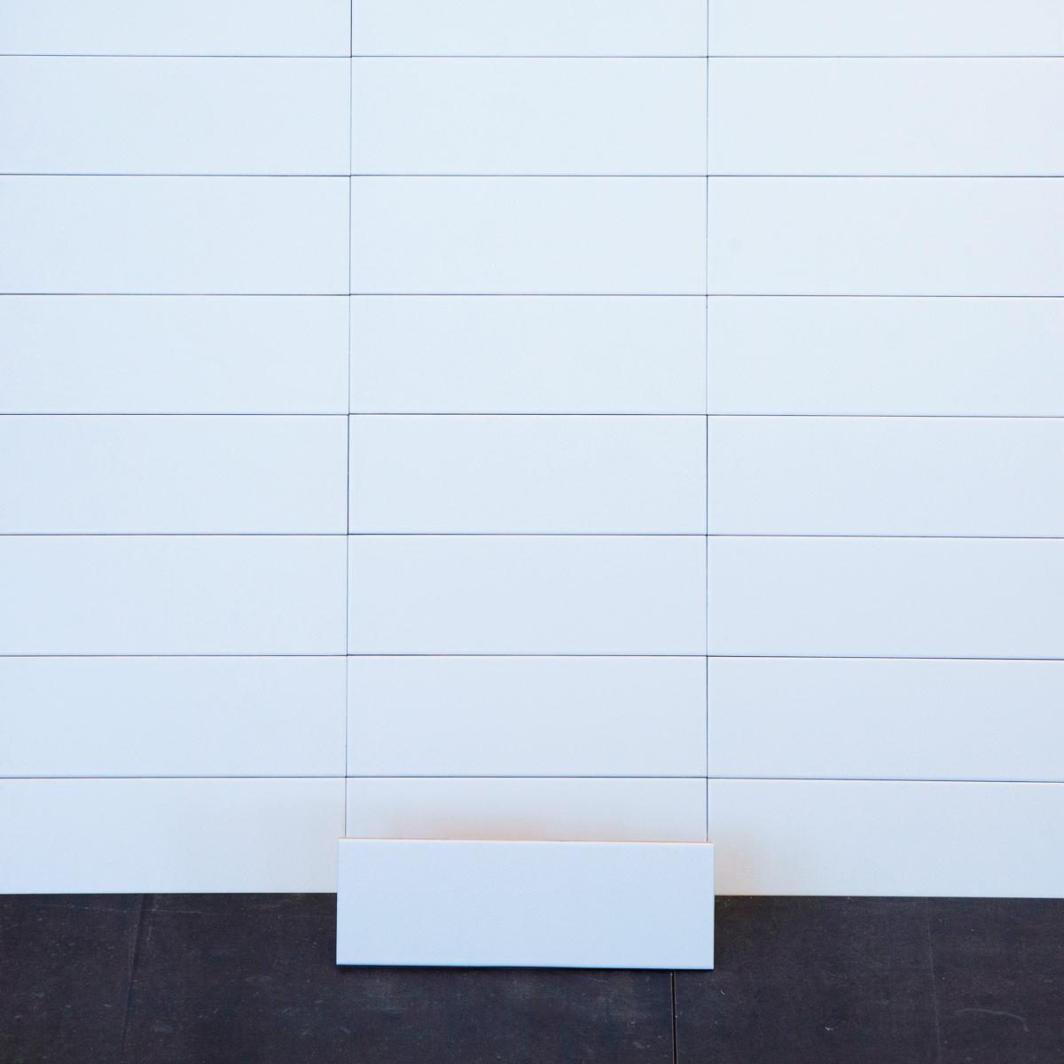 Kakel Color Pure White Matt 10×30 cm