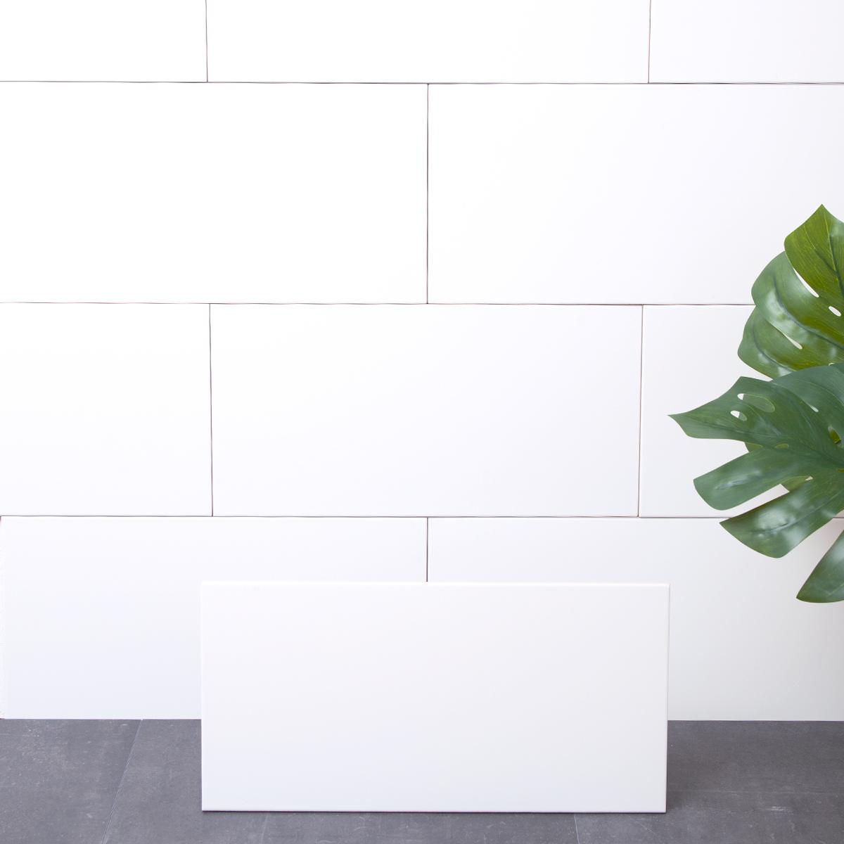 Kakel Arredo Line Vit/ret Matt 30×60 cm