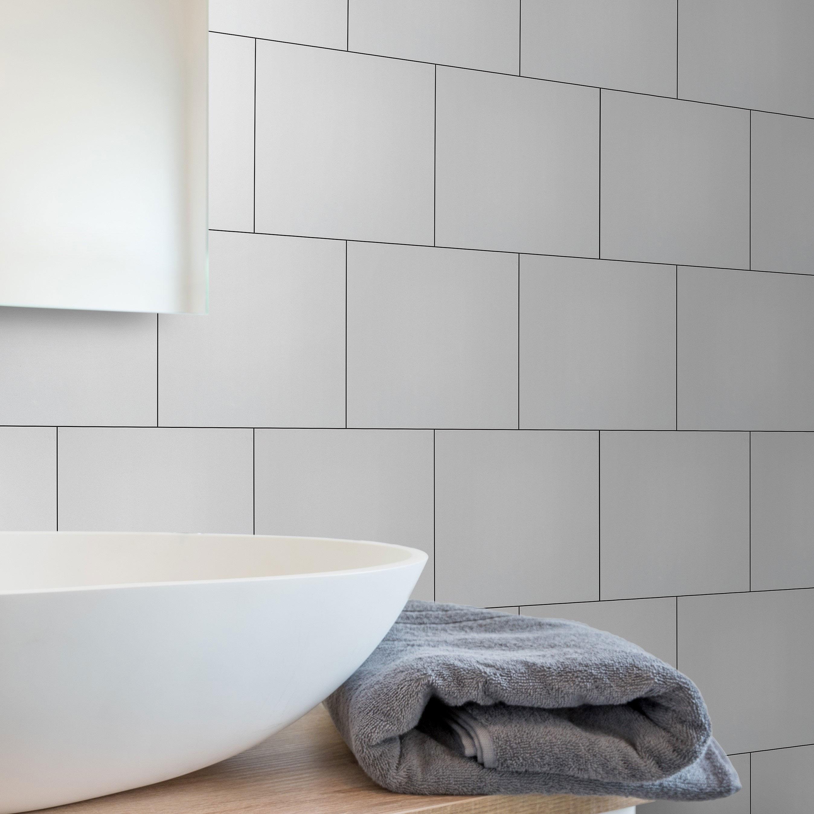 Kakel Arredo Color Gris Blank 20×20 cm