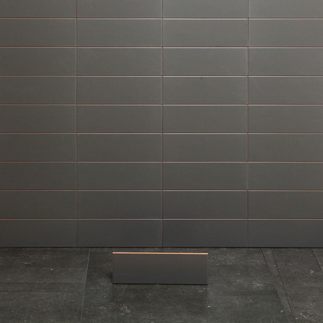 Kakel Arredo Color Gris Marengo Matt 10×30 cm