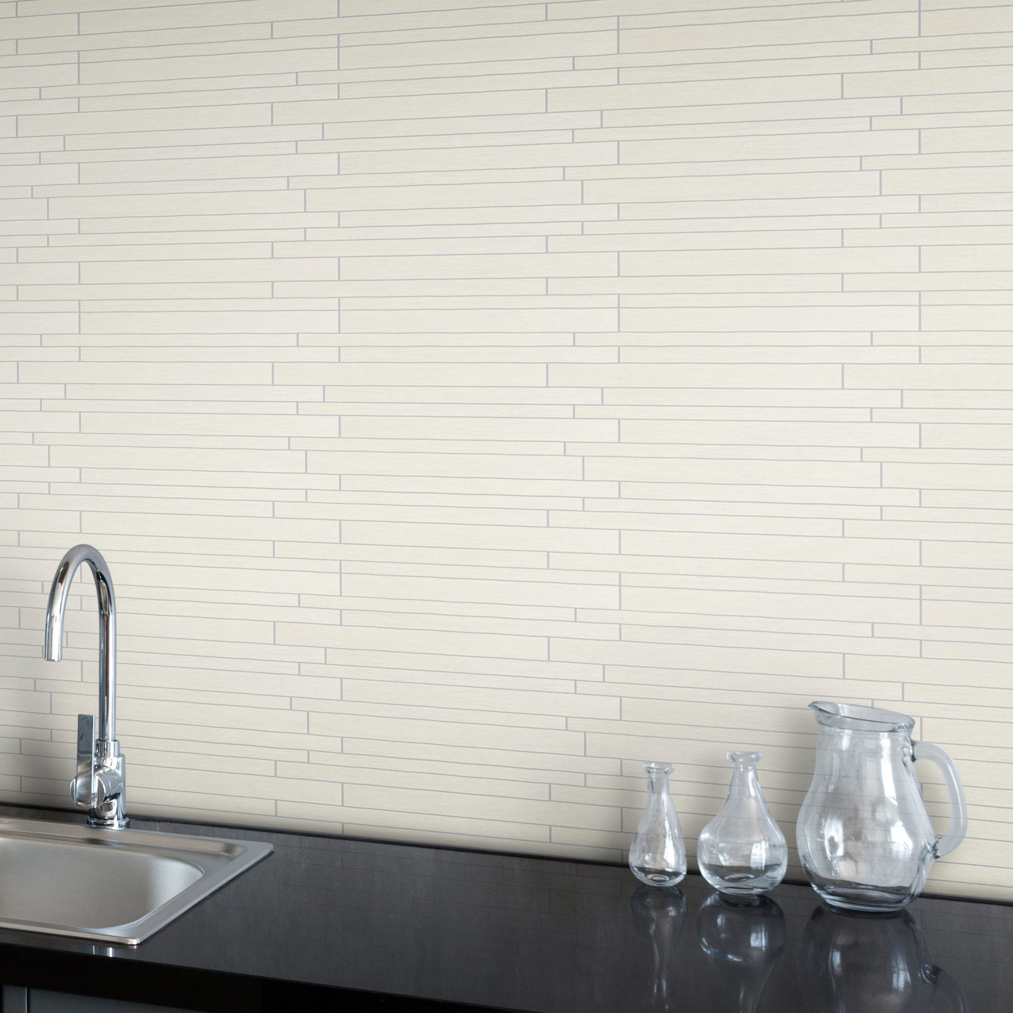 Klinker Arredo Bamboo White Mosaic 2×30 cm