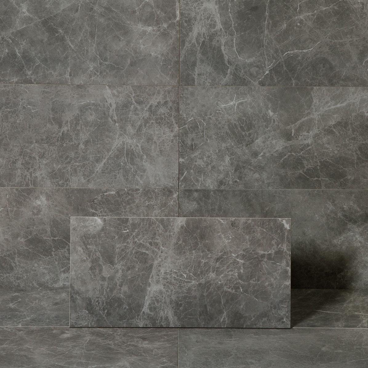 Klinker Marmorea2 Jolie Grey 30×60 cm Blank