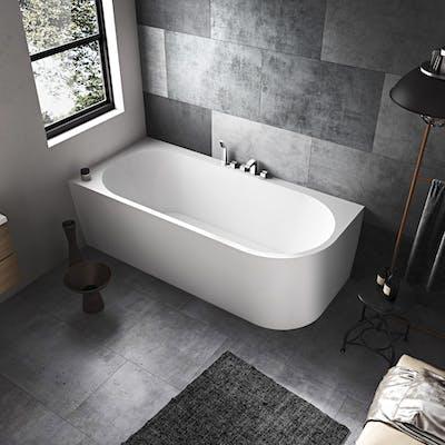 stort badkar utan bubbel