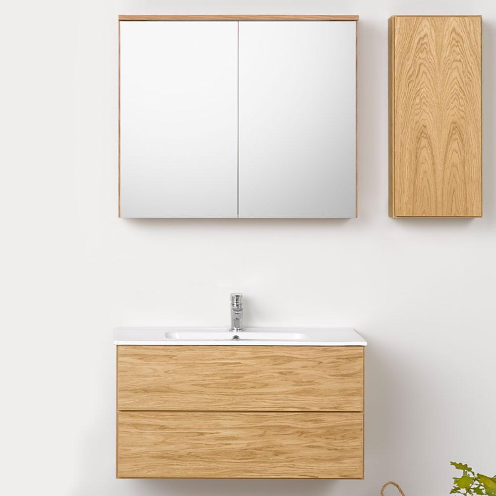 Möbelpaket Westerbergs Afton 800 med Spegelskåp Ek