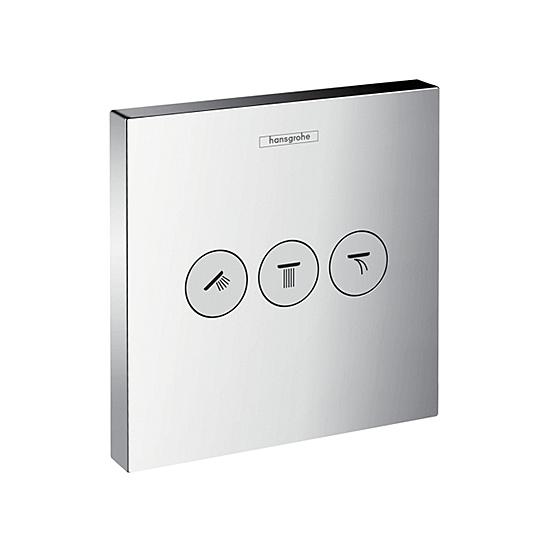 Avstängning- och Omkastare Hansgrohe ShowerSelect 3 Funktioner