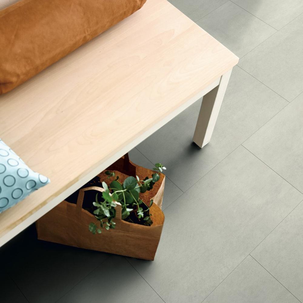 Vinylgolv Pergo Rigid Click Tile Light Concrete