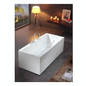 Badekar Bathlife Ideal Form Frittstående Hvit