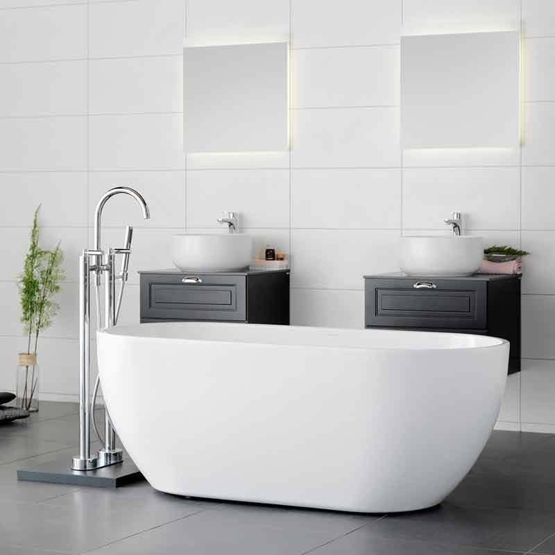 hur stort är ett badkar
