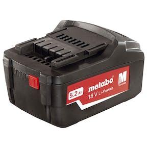Batteri Metabo 18V 5,2 Ah Li-Power