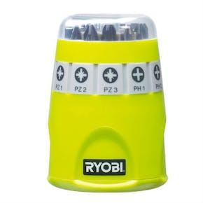 Bitssett Ryobi RAK10SD 10 Deler