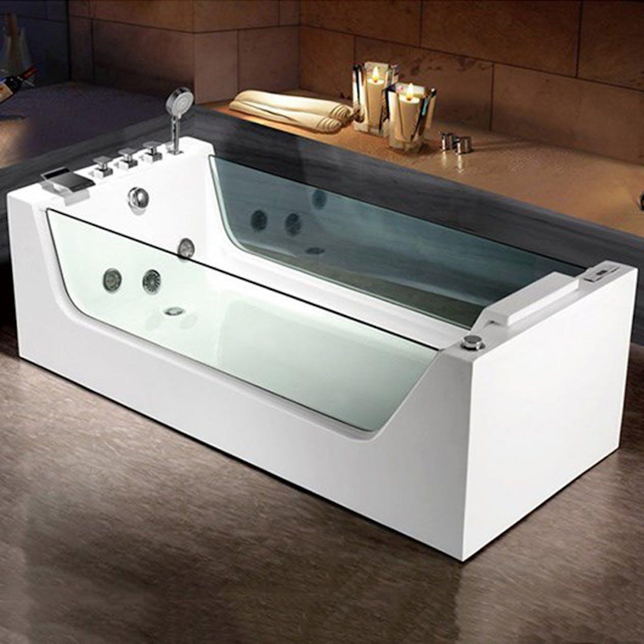Bubbelbadkar Bathlife Flit - FLIT1700F1WAEBHA till bra pris hos ... d3c72349d644b