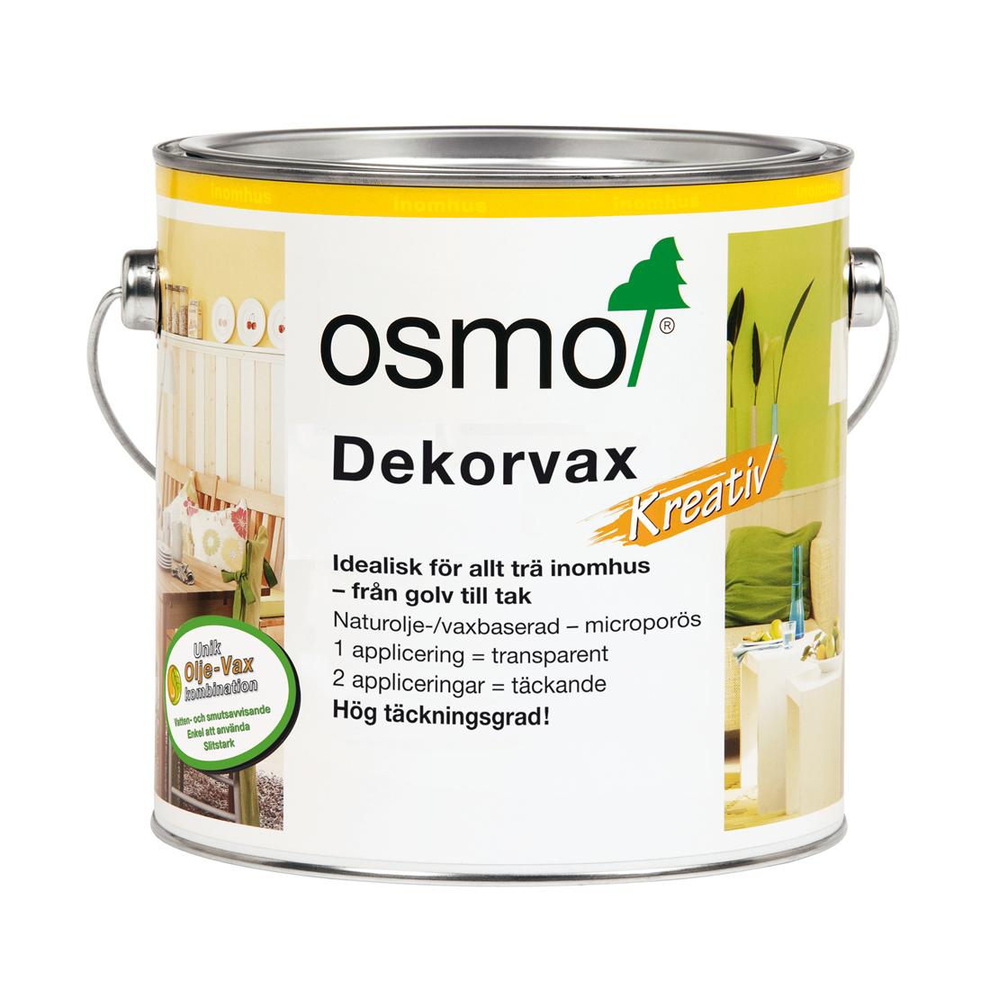 Dekorvax Osmo Transparent Ebenholts