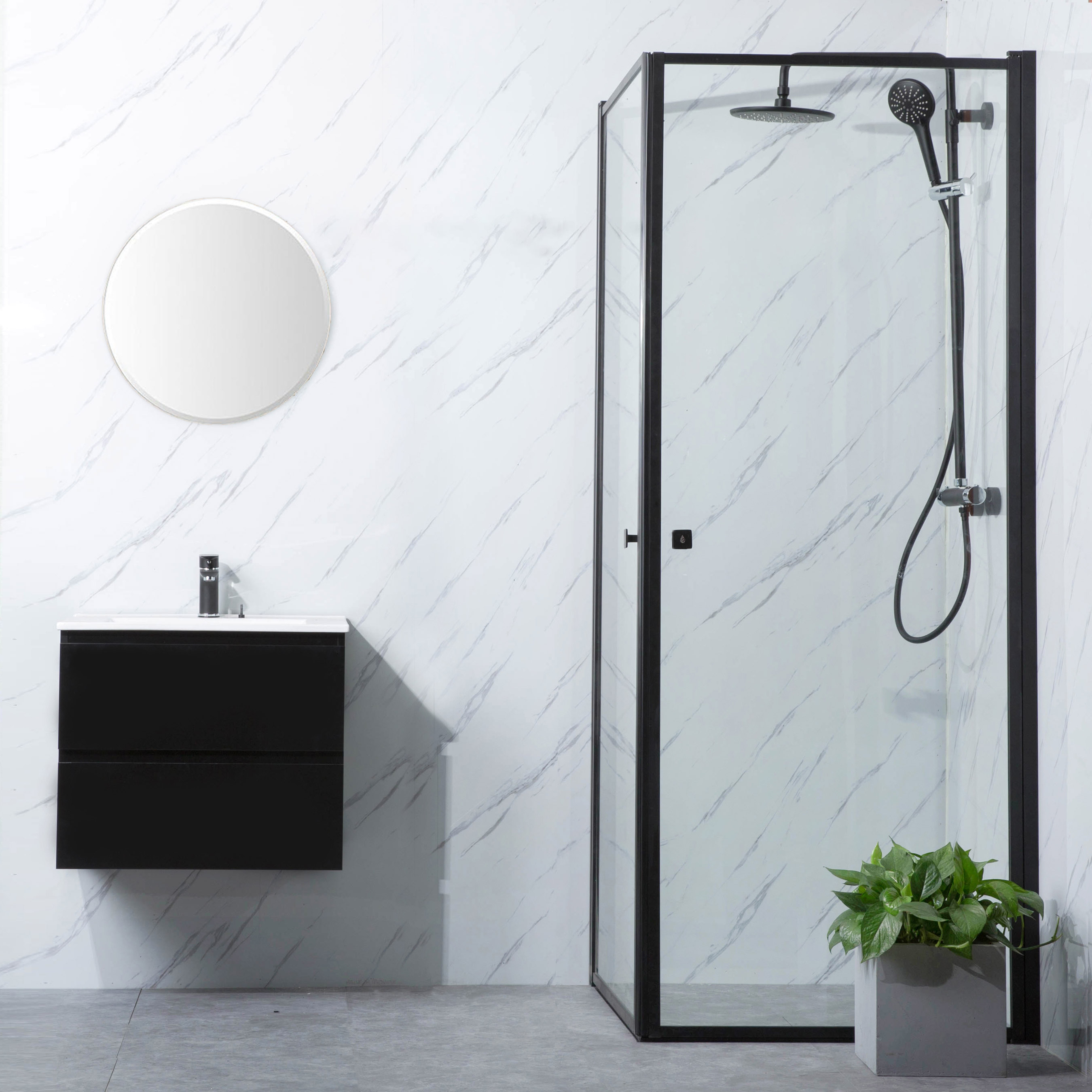 Duschhörn Bathlife Profil Rak Dörr + Rak Dörr