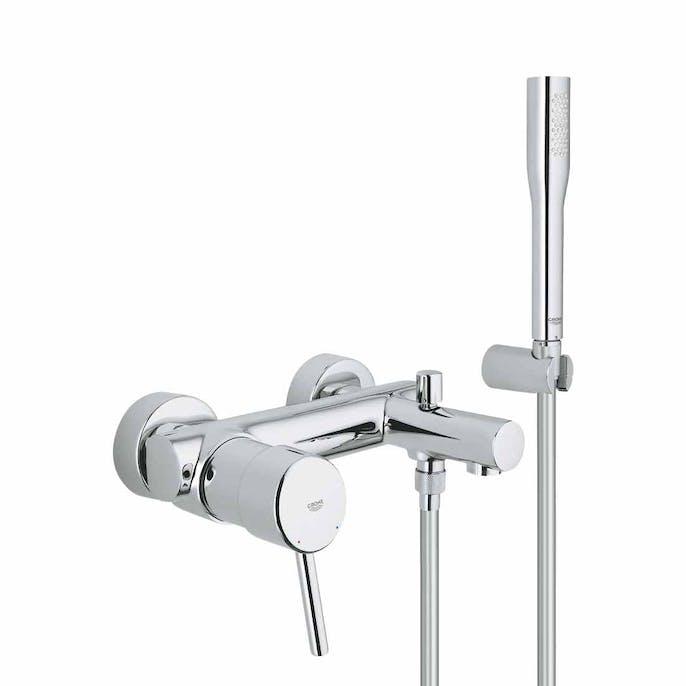 badkarsblandare med dusch 40 cc