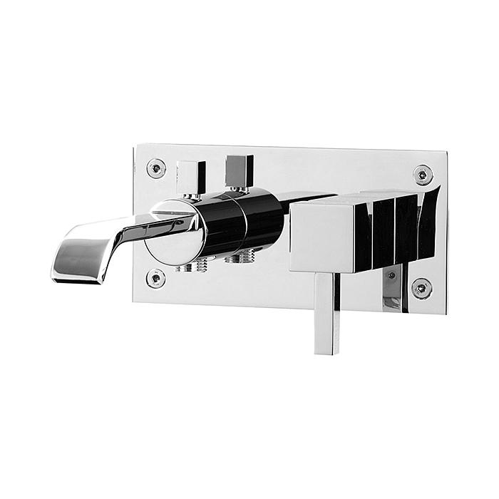 Dusch- och Badkarsblandare Tapwell BOX 022 Rettangolo