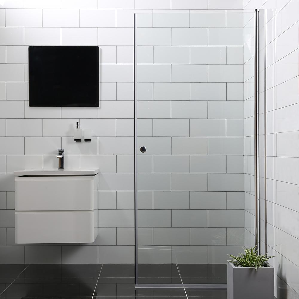 Duschdörr Bathlife Mångsidig Rak