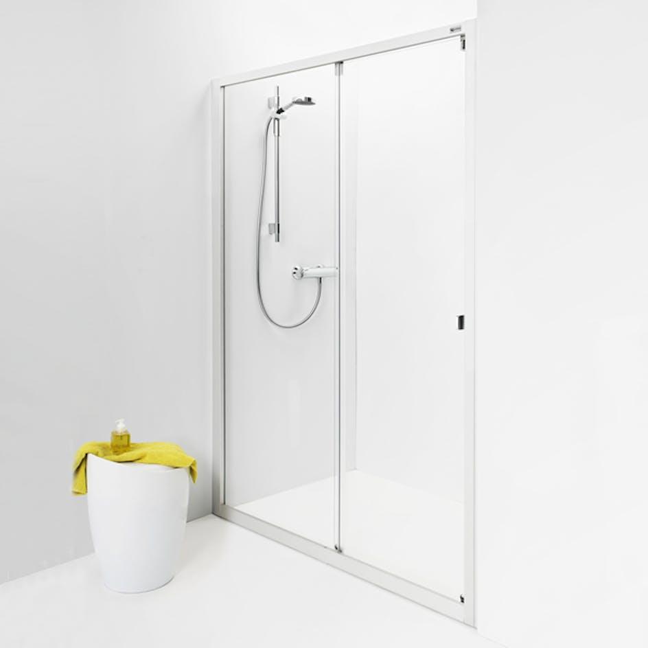 Duschdörr IDO Showerama 8-1 Nischdusch BxH  1450x2000 mm Frostat Glas 9ffcb99d8f7c9