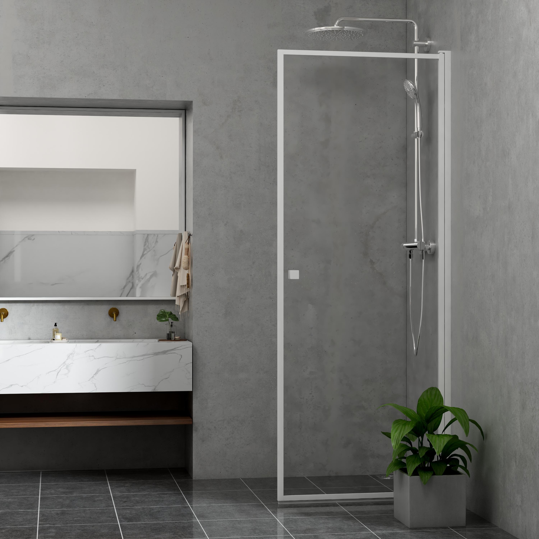 Duschdörr Bathlife Profil Rak Vit