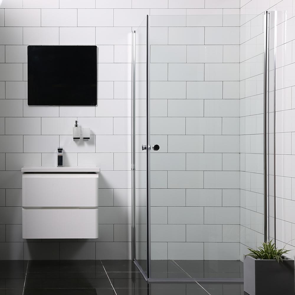Duschhörn Bathlife Mångsidig Rak Dörr + Rak Dörr