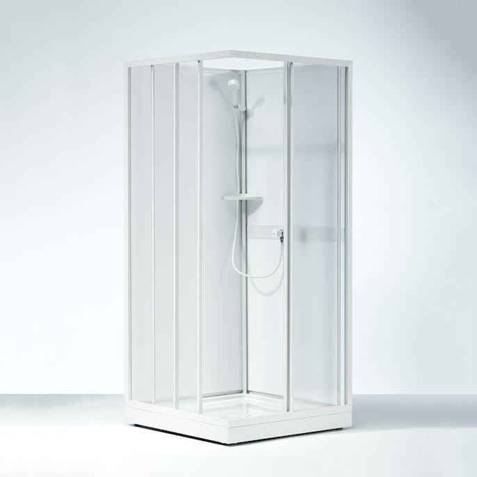 duschkabin för två personer