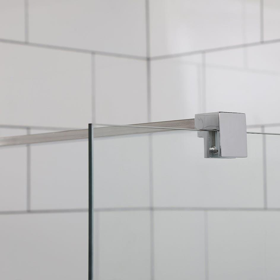 Nykomna Duschvägg Bathlife Mångsidig Rak hos Badshop.se CR-29