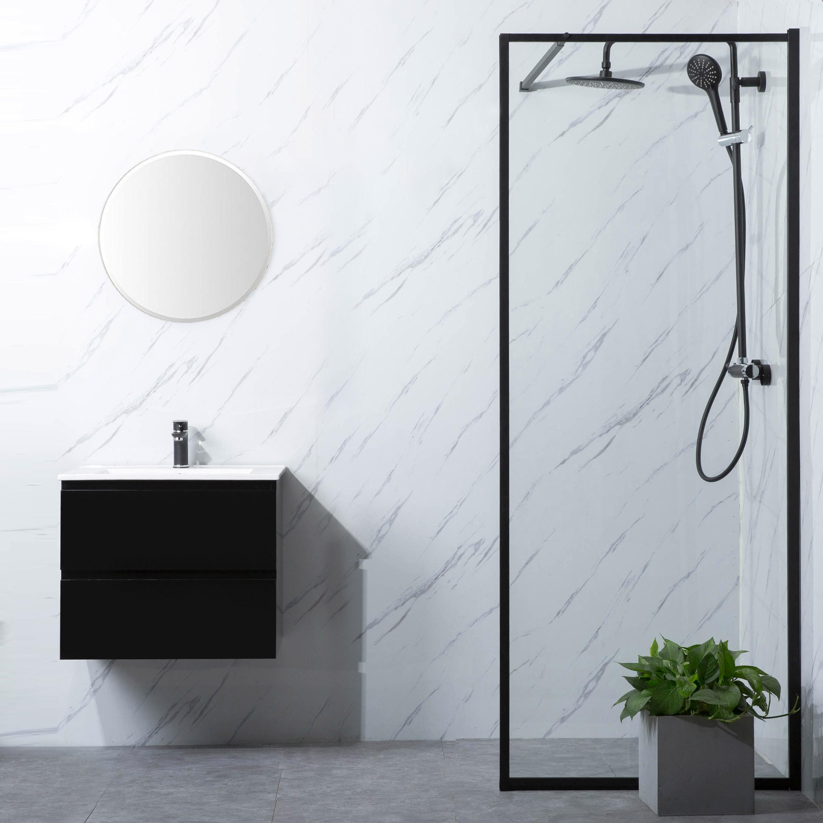 Duschvägg Bathlife Profil Rak