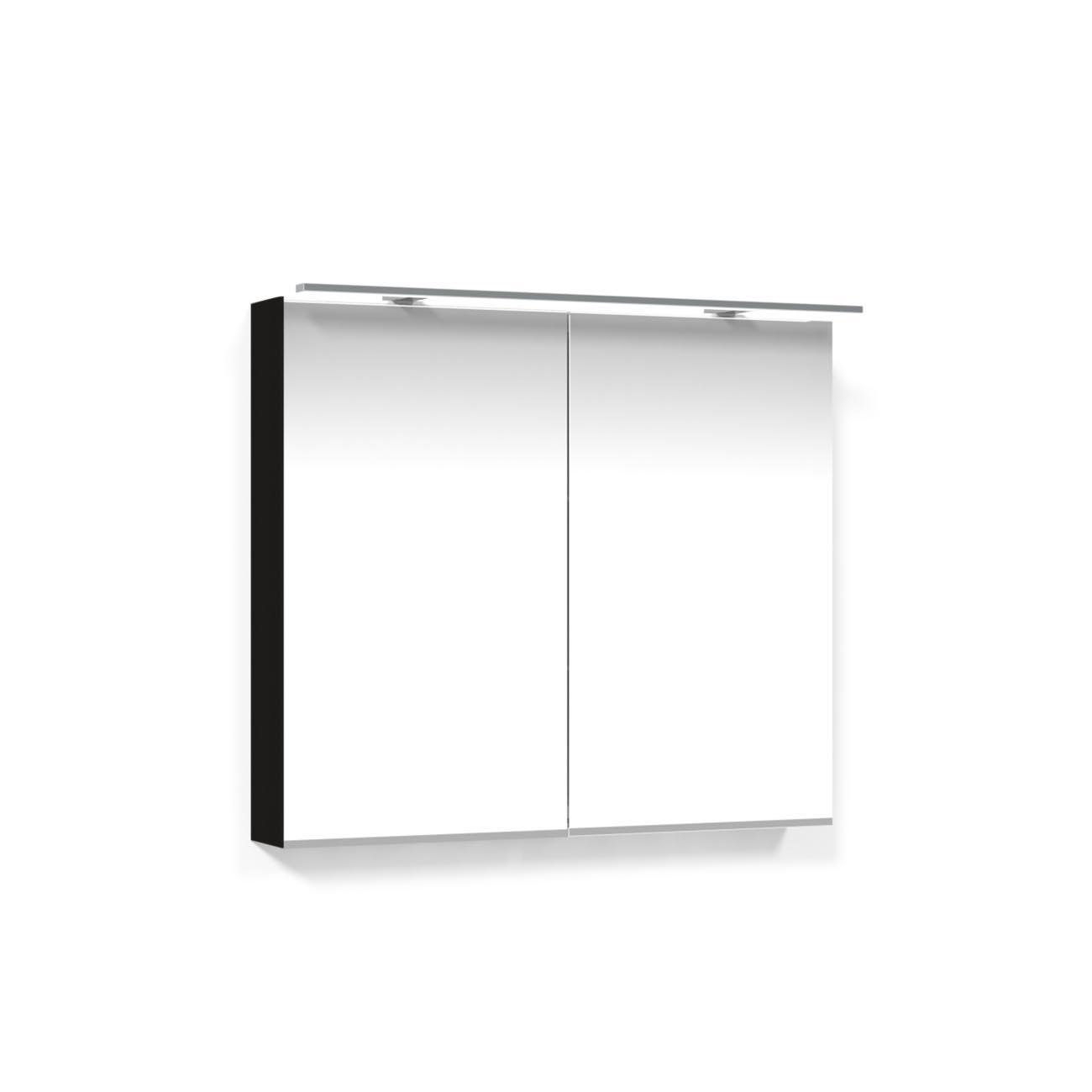 Spegelskåp Macro Design 800 Rampbelysning LED