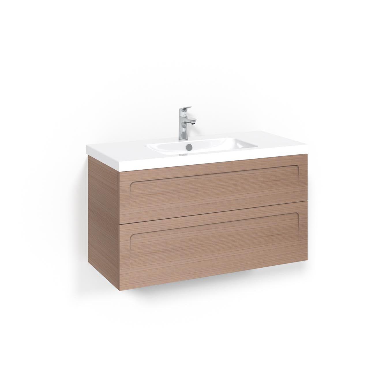 Tvättställsskåp Macro Design Crown Ramlucka Light 45