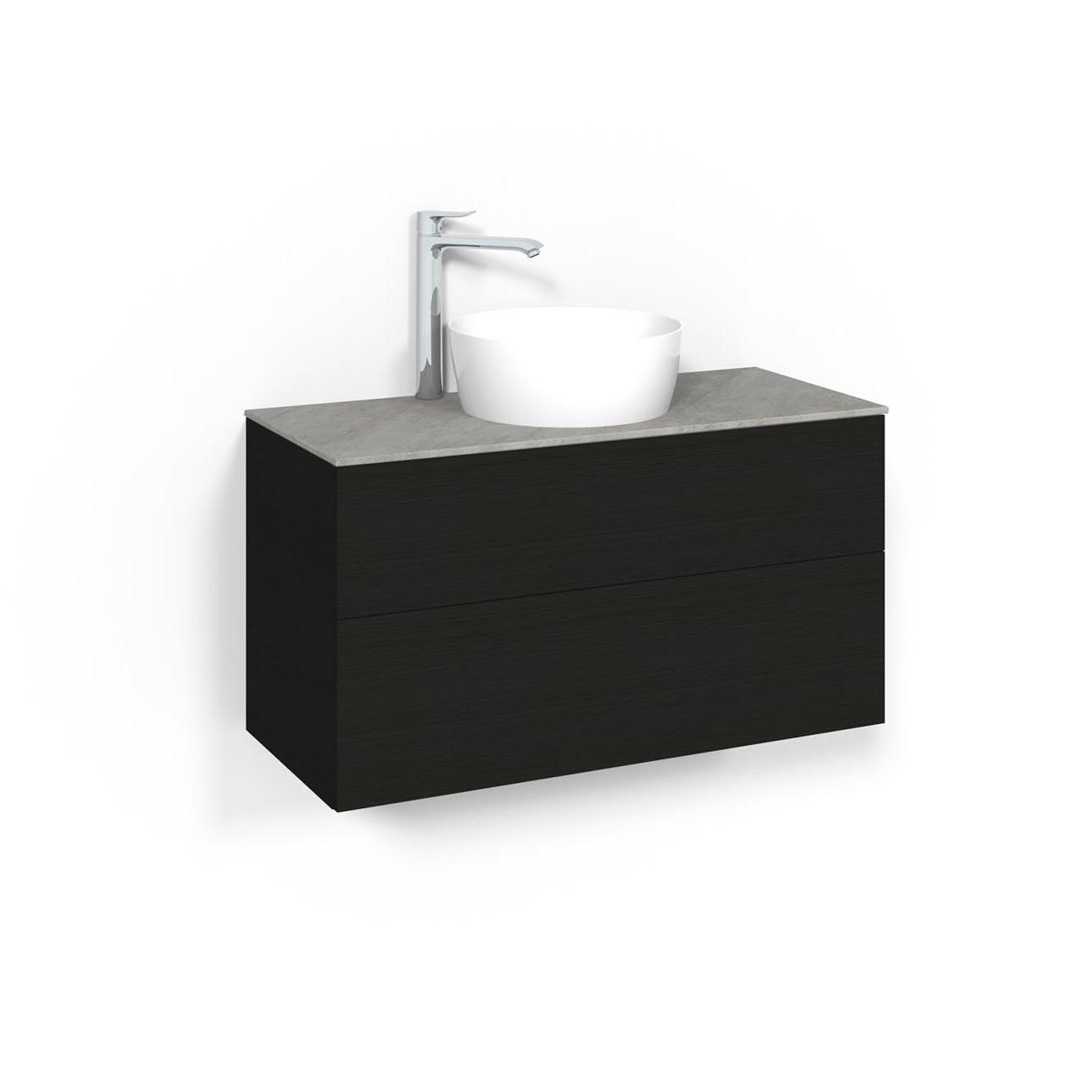 Tvättställsskåp Macro Design Crown Plain Ovanpåliggande Tvättställ