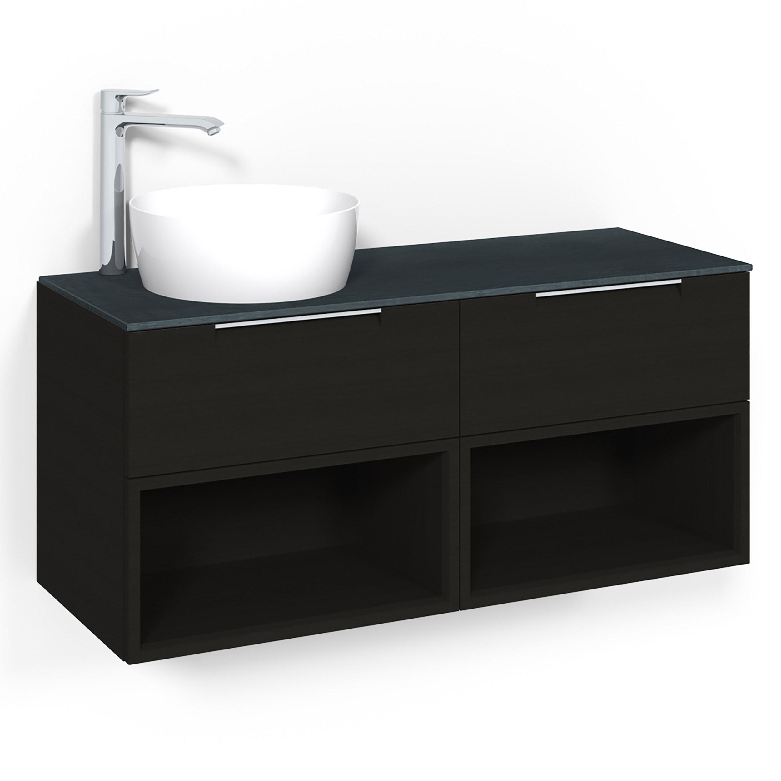 Tvättställsskåp Macro Design Crown Open Box Ovanpåliggande Tvättställ