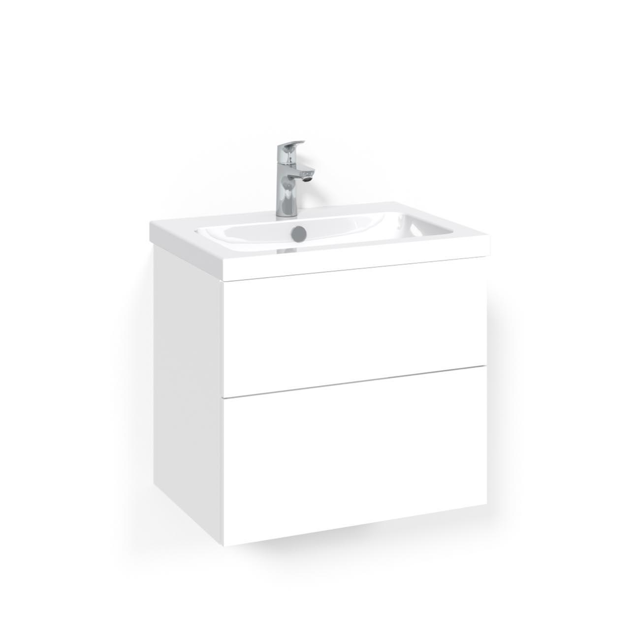Tvättställsskåp Macro Design Crown Plain Light 45