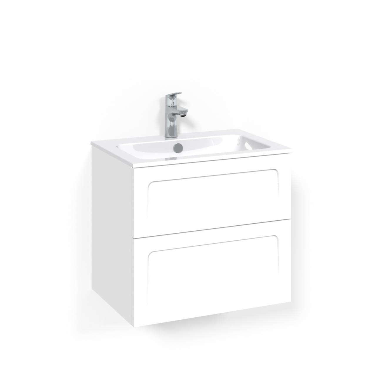 Tvättställsskåp Macro Design Crown Ramlucka Light 14