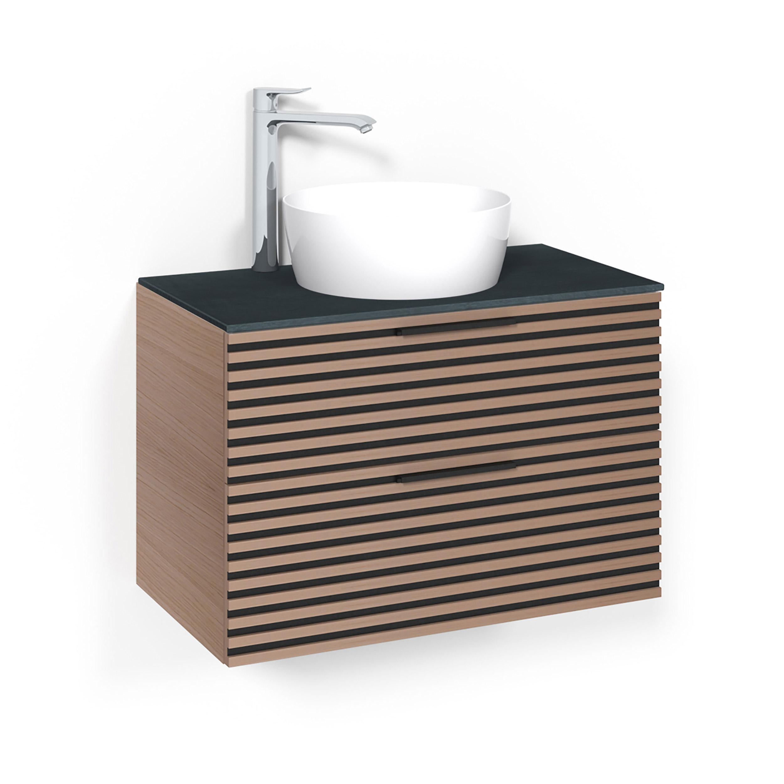 Tvättställsskåp Macro Design Crown Stripe Ovanpåliggande Tvättställ