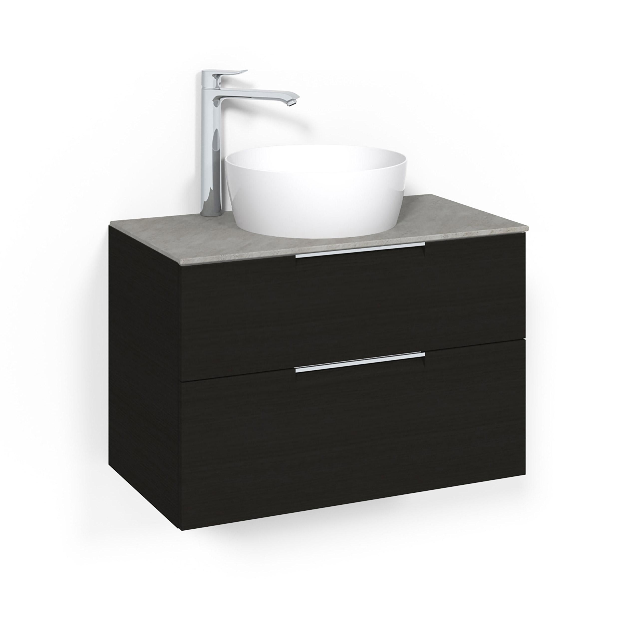 Tvättställsskåp Macro Design Crown Grip Ovanpåliggande Tvättställ
