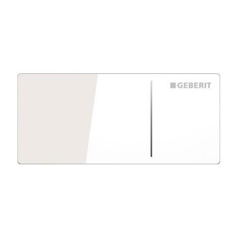 Spolknapp Geberit Omega 70 Remote Vit Glas