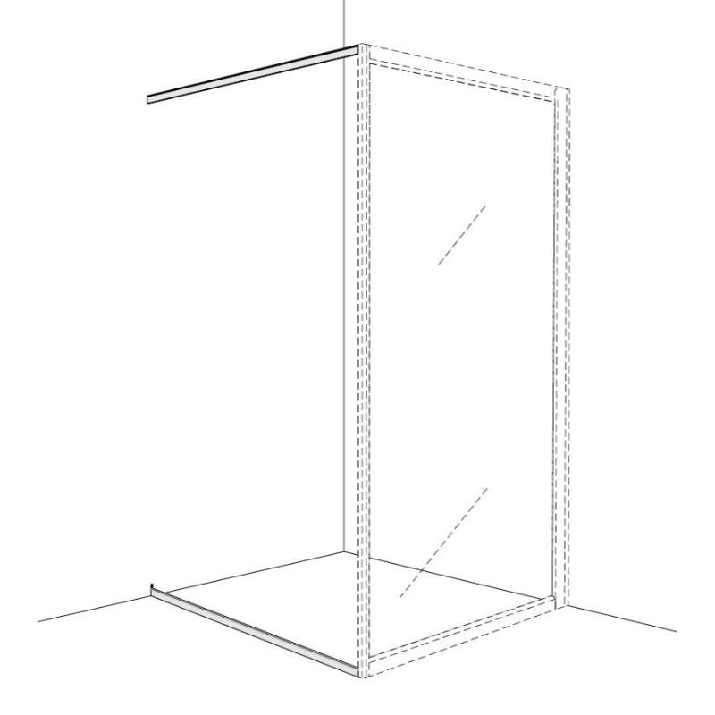 Golv- och Draperilist Ifö Solid SVGD
