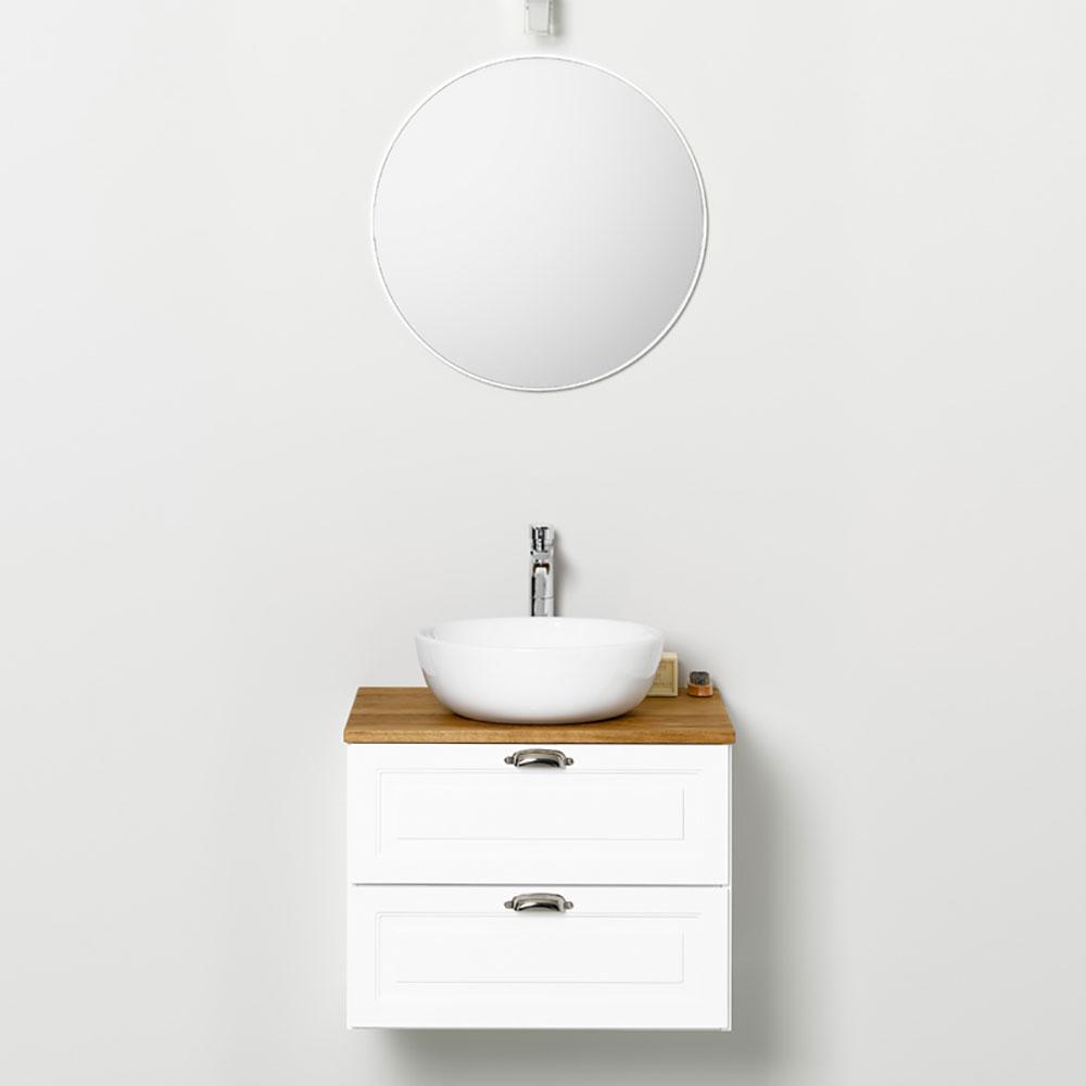 Möbelpaket Westerbergs Gryning med Spegel Vit 600