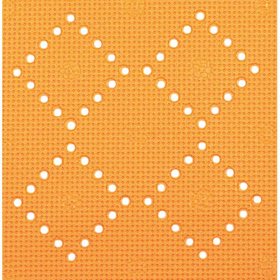 Halkskyddsmatta Spirella Alaska Orange Halkskyddsmatta Spirella Alaska  55x55 cm Orange 54155585ca3e8