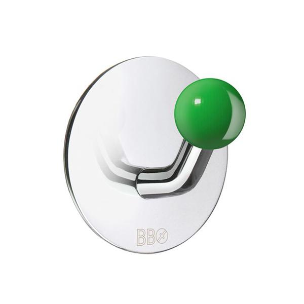 Handdukskrok Beslagsboden BK1088 Rostfri/Grön