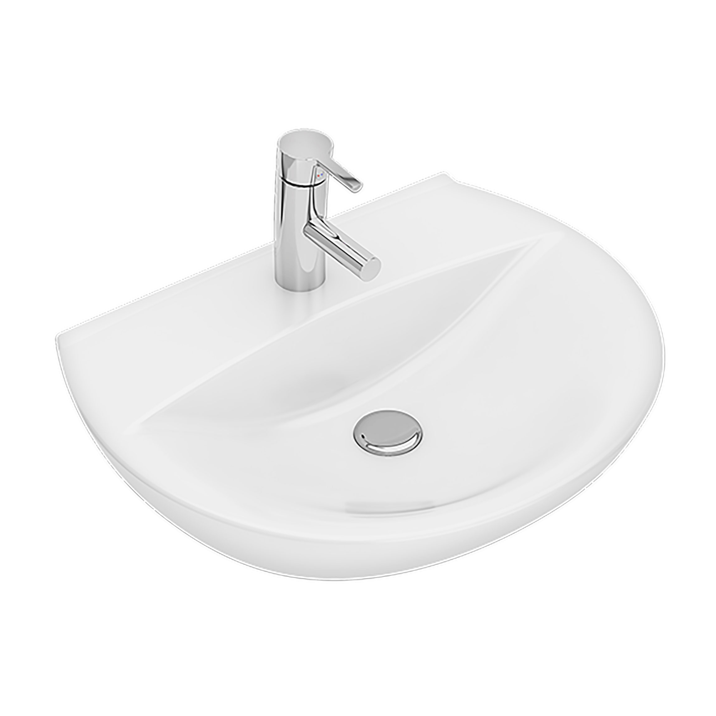 Tvättställ Ifö Spira sjukhustvättställ 60 cm