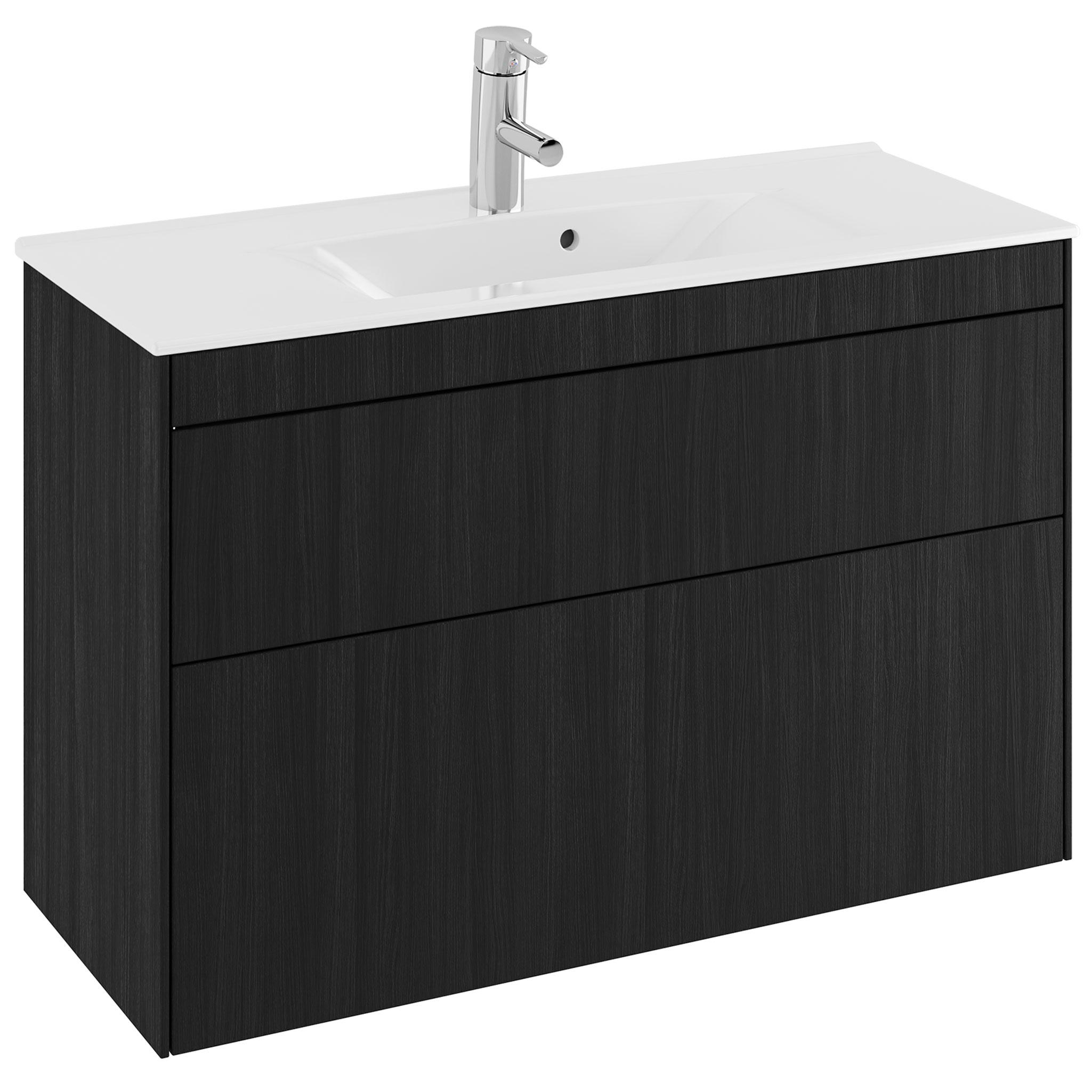 Tvättställsskåp Ifö Sense 90 Compact Lågt Tvättställ