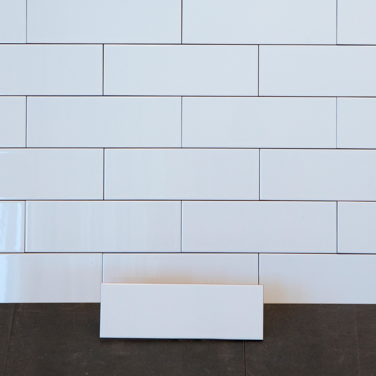 Kakel Arredo Polar Blank Vit 10×30