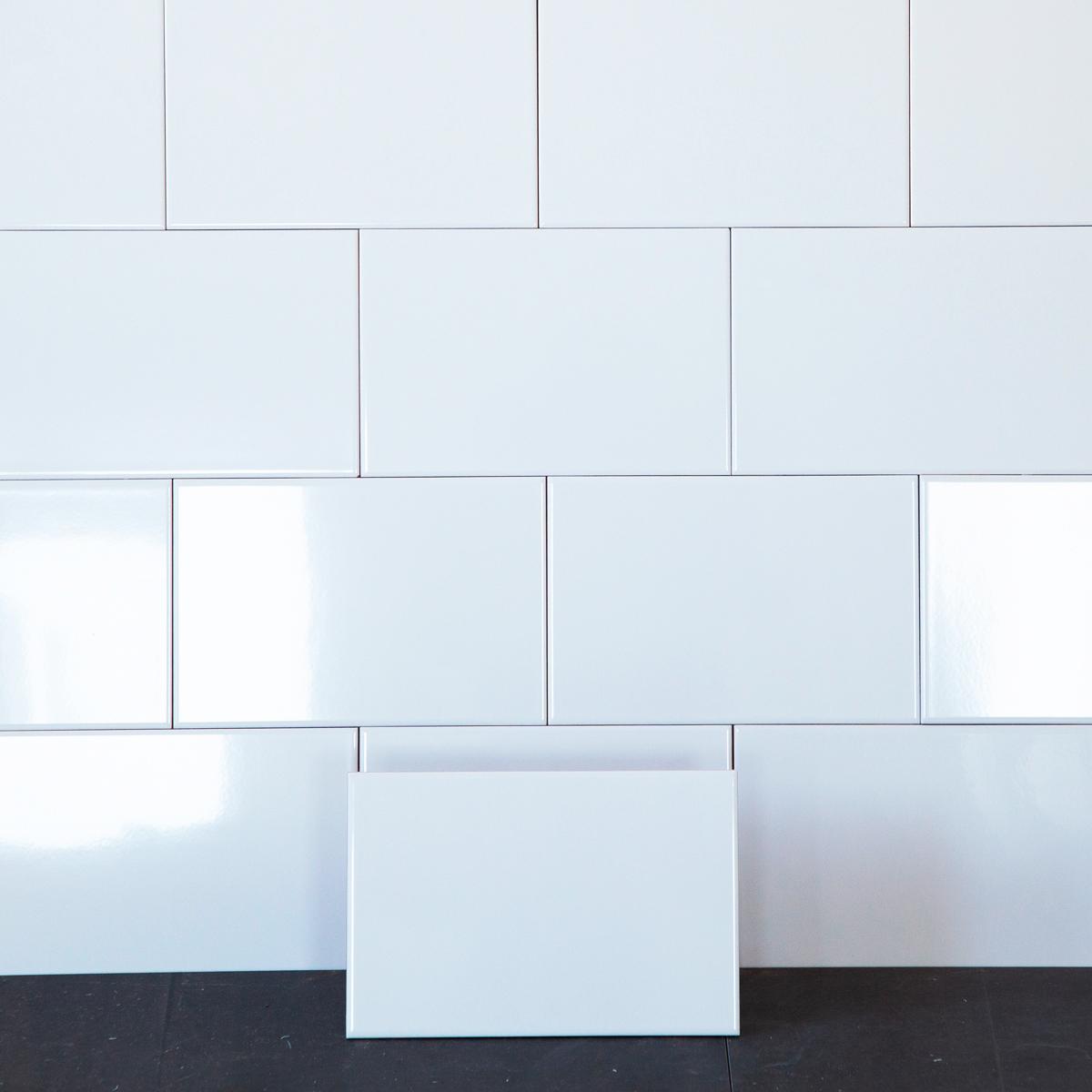 Kakel Polar Vit Blank 20×30 cm