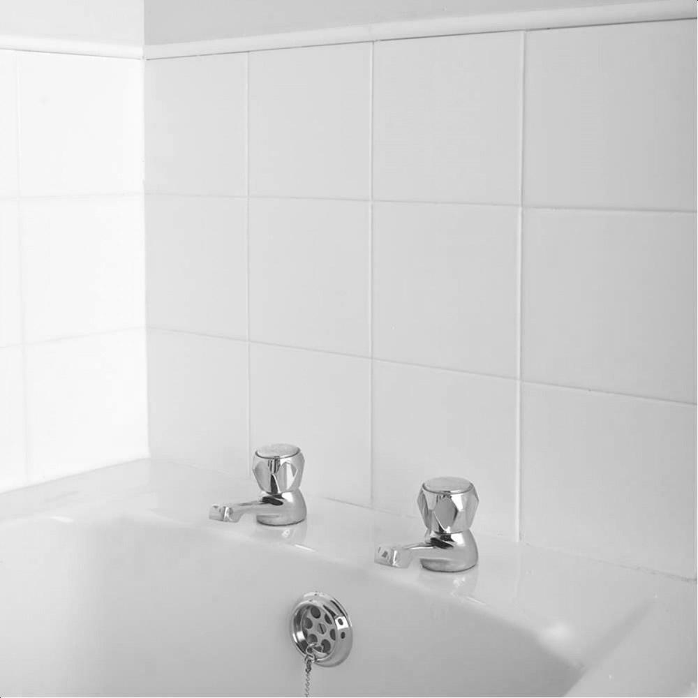 Kakel Classico Vit Blank 200x200 mm